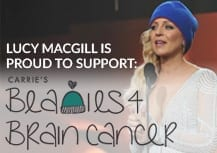 Proud to support Carrie's Beanies 4 Brain Cancer