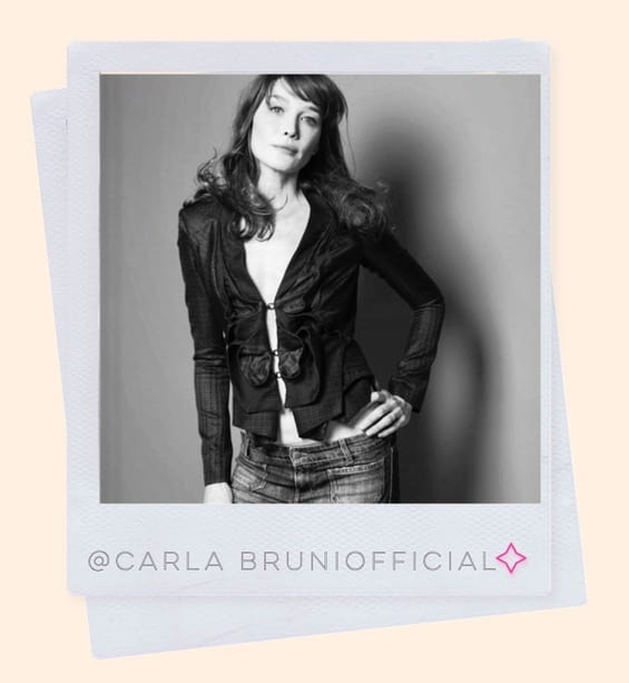 @carlabruniofficial style icon over 50