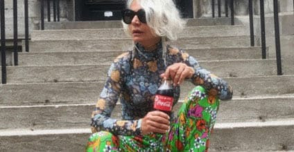@greceghanem style icon over 50
