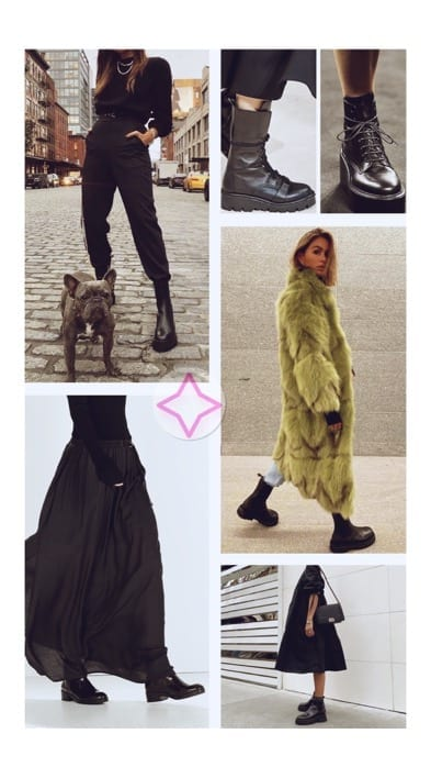 Lucy MacGill combat boots inspo