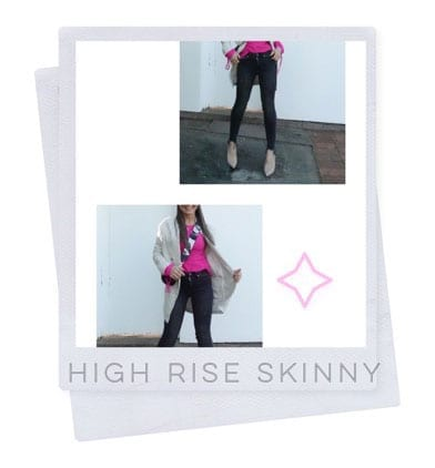 Lucy MacGill high-rise skinny jean