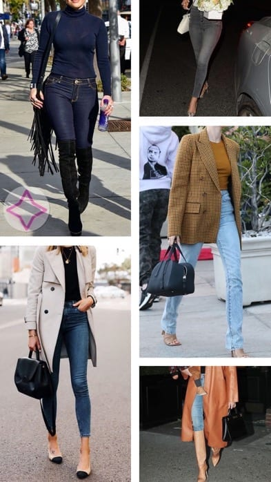 Lucy MacGill high-rise skinny jeans inspo