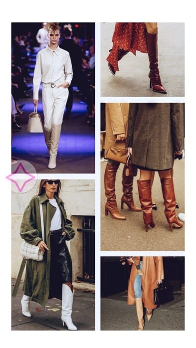 Lucy MacGill knee-high boots inspo