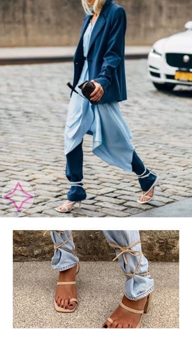 Lucy MacGill lace-up over jeans inspo