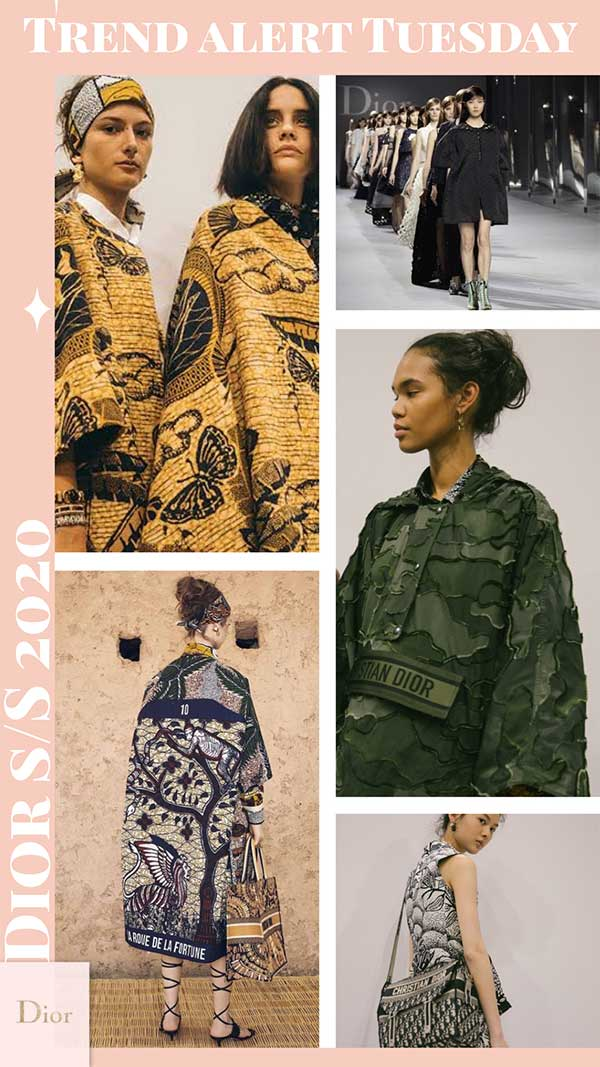 Lucy MacGill Style Tribe Trend Alert Tuesday: Dior Spring Summer 2020