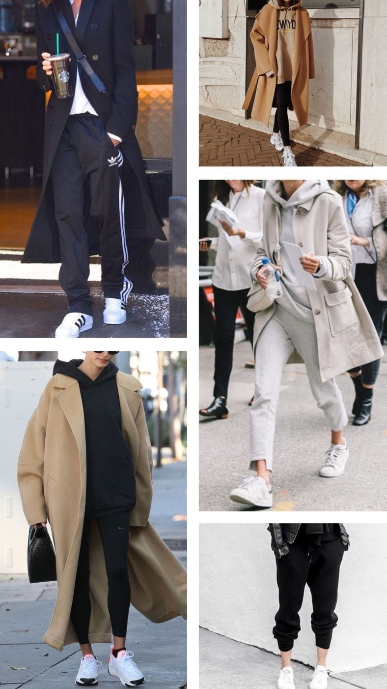 Sneakers and pants cool fashion look