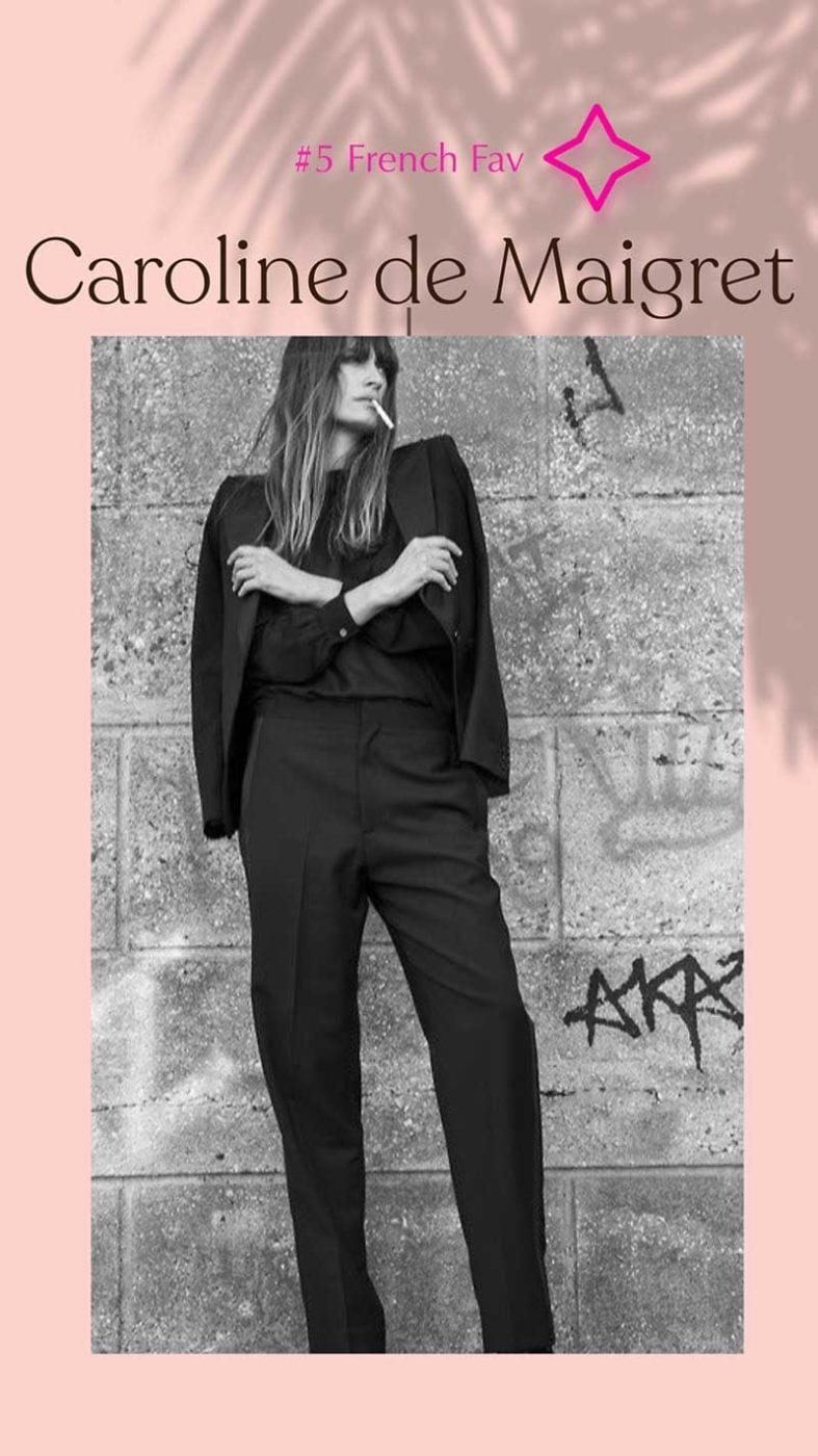French favourite Caroline deMaigret, Lucy MacGill Style Tribe