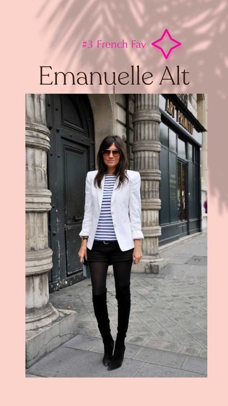 French favourite Emanuelle Alt, Lucy MacGill Style Tribe