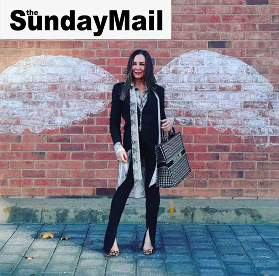 Lucy MacGill interview-Sunday Mail - 5 minutes with a fashion stylist