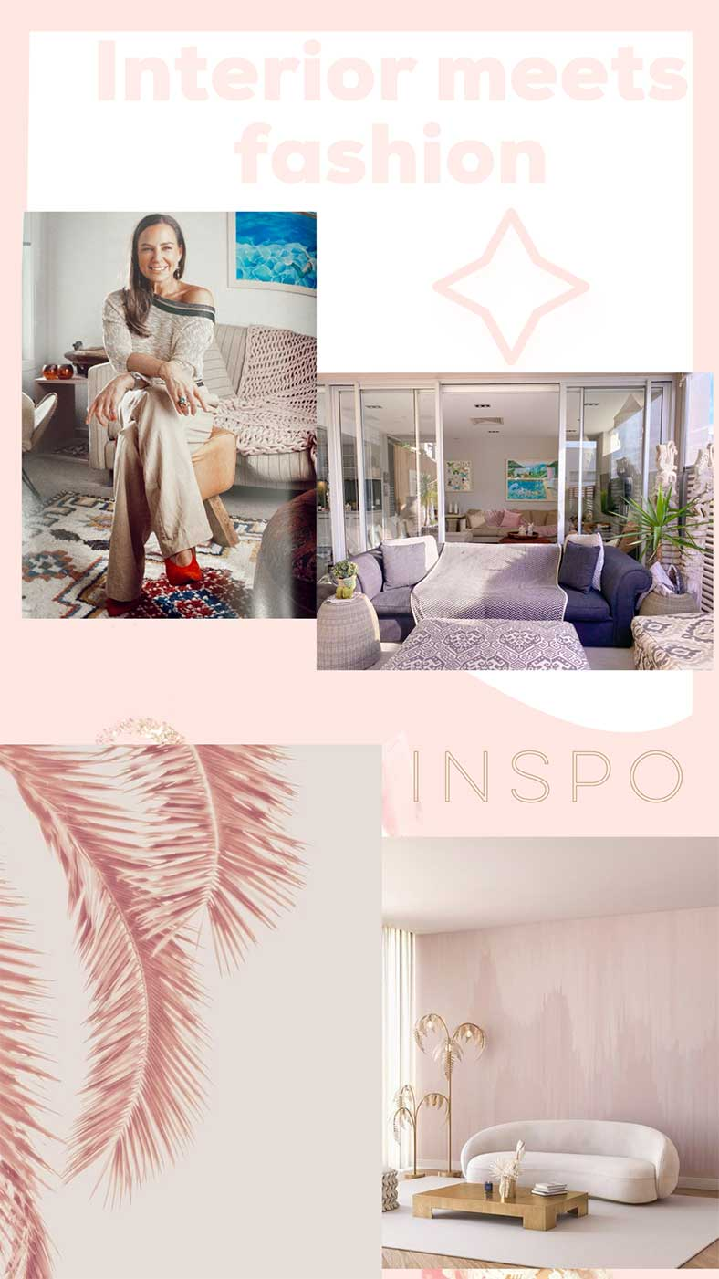 The Style Tribe Lucy MacGill Fashion meets interiors inspo