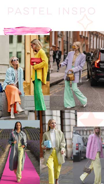 Pastel fashion inspo Style Tribe Lucy MacGill