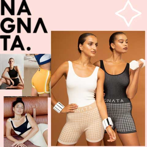 Lucy MacGill loves Nagnata Yoga workout gear
