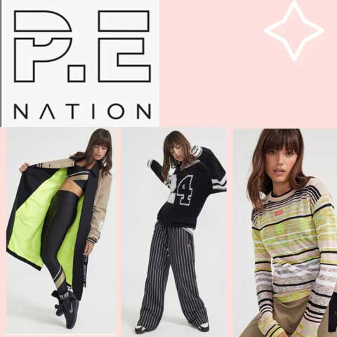 Lucy MacGill loves PE Nation Yoga workout gear