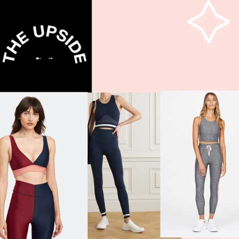 Lucy MacGill loves The Upside Yoga workout gear