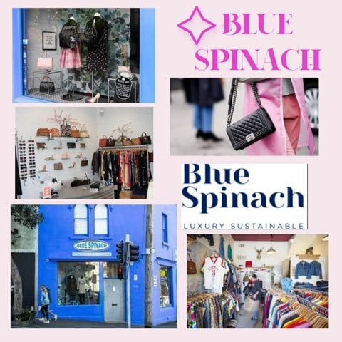 Blue Spinach luxury sustainable clothing