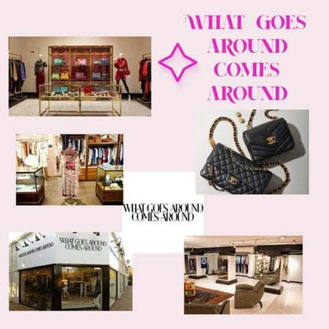 What Goes Around Comes Around luxury consignment clothing