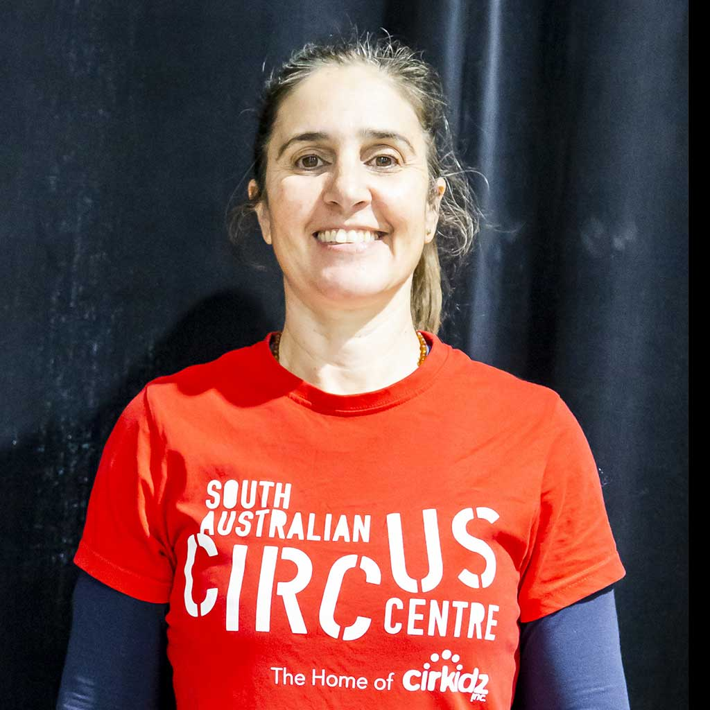 SA Circus Centre Trainer Russell, Aerial Specialist