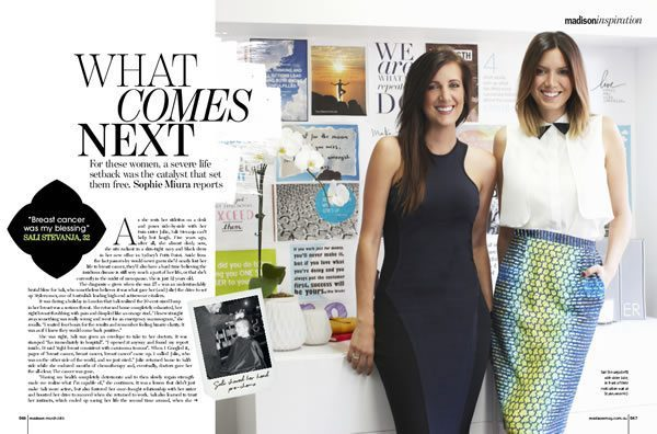 Madison Magazine: Inspiration - What Comes Next, Featuring Zoë Watson, founder of Bliss Sanctuary For Women