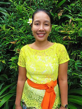 Our people - Canggu Staff - Riana - Kitchen and Housekeeping