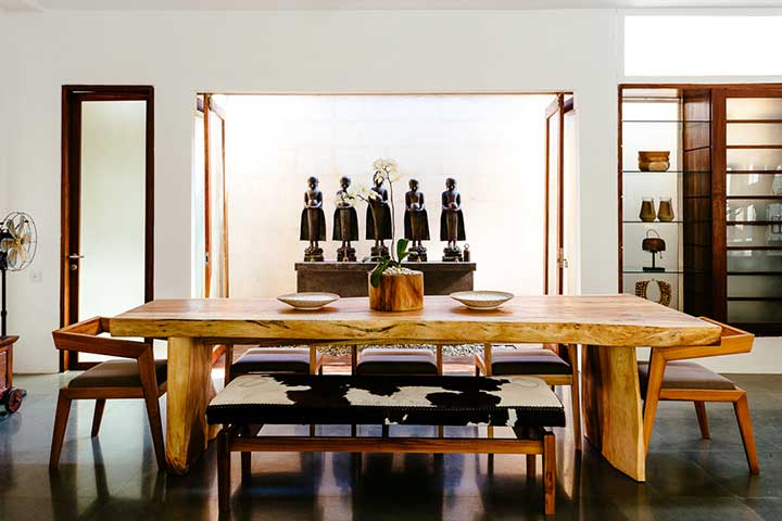 Dine in lovely dining areas,  Seminyak Bali, Bliss Sanctuary For Women