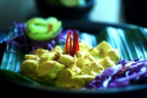 Yummy food prepared lovingly at our Bali health & wellbeing retreat Bliss Sanctuary For Women