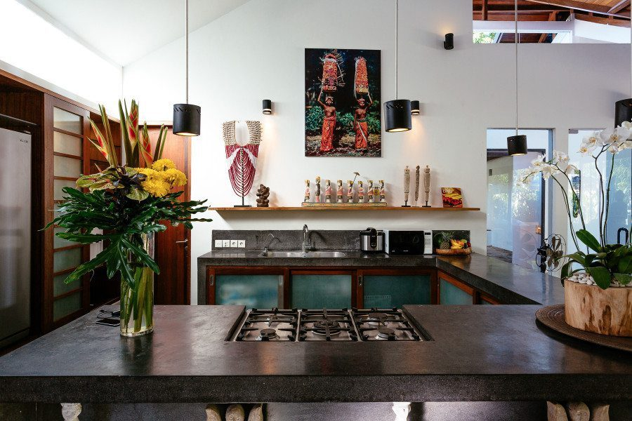 Well apoointed kitchen areas,  Seminyak Bali, Bliss Sanctuary For Women