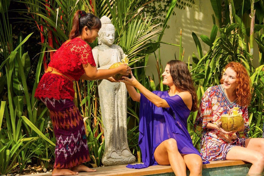 Our people at our Seminyak retreat sanctuary