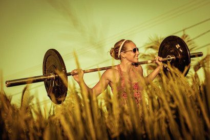 Women working out in Bali surrounds with the Bliss Active Package