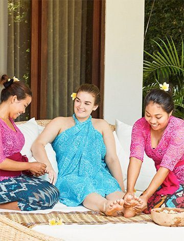 Absolute pampering at Bliss