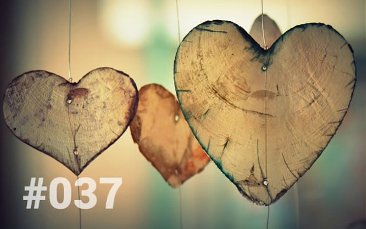 Blog 37 - Heartfelt email from Bliss Retreat guest. Picture of hanging hearts
