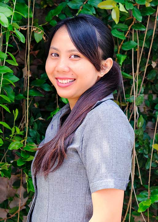 Our People: Ririn works hard behind the scenes as the operations assistant at Bliss Sanctuary