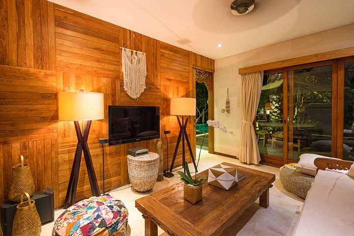 Relax in lovely living area,  Canggu Bali, Bliss Sanctuary For Women