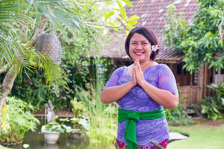 Our people - Vera is an amazing masseuse at our Womens Canggu Wellness Retreat