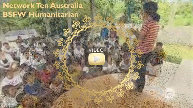 Network Ten Australian BSFW Humanitarian story featuring Bliss Sanctuary For Women