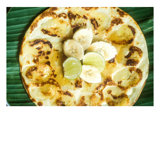 Unlimited Delicious Gorgeous Food at Bliss Sanctuary For Women - Banana Pancakes