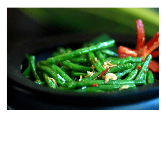 Green Beans with Chilli and Garlic