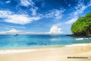 Padangdai and Blue Lagoon Beach Karangasem East Bali