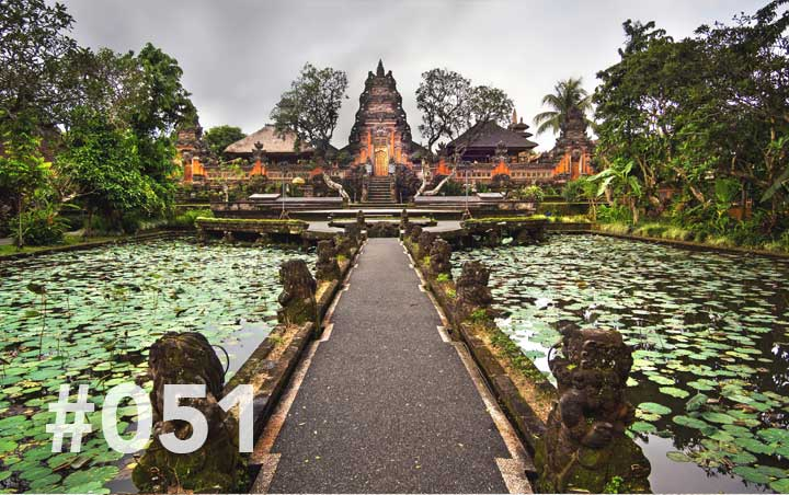 Blog 51: The path to Ubud - gorgeous Ubud location
