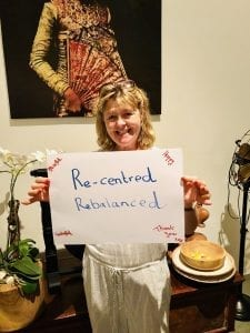 a Bliss guest feeling re-centred and rebalanced after her stay at our Bali Retreat