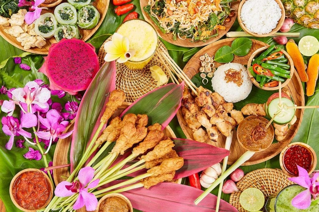 Unlimited delicious food at Bliss Bliss retreat
