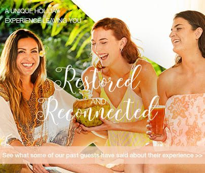 Restored and Reconnected women at a Bali Retreat