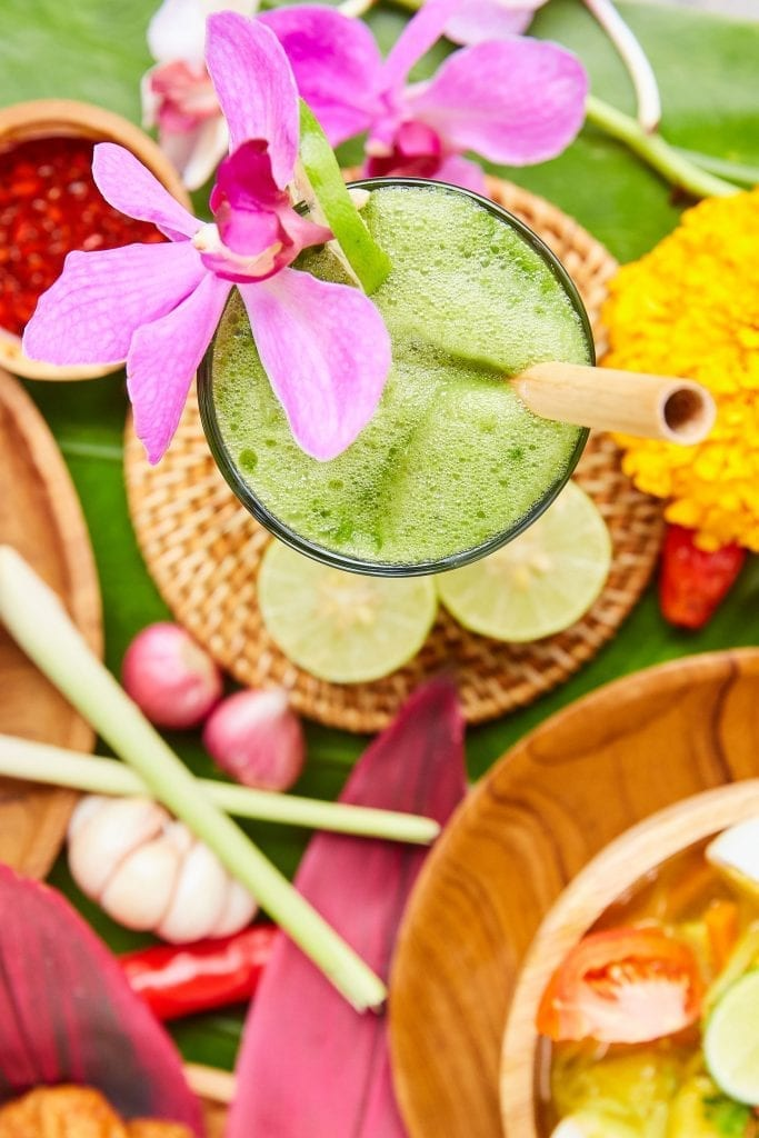 Delicious smoothie, Bliss Bali retreat