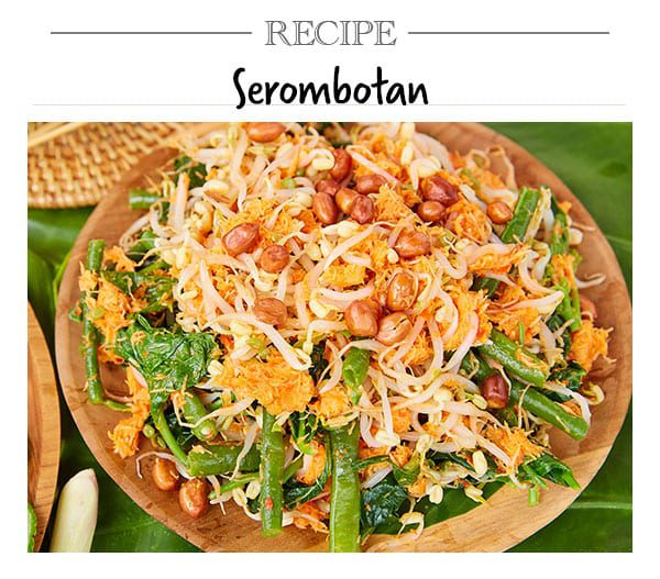 Recipe, Serombotan