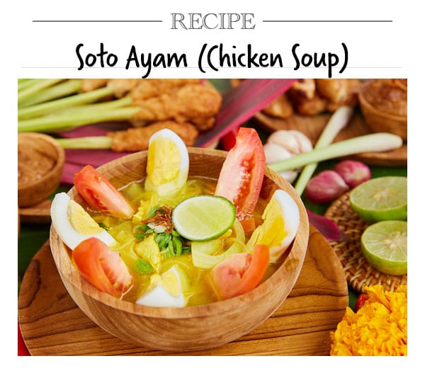 Recipe, Soto Ayam (Chicken Soup)