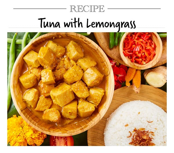 Recipe, Tuna with Lemongrass