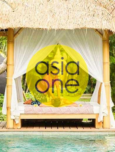 Asia One website, Bliss Sanctuary For Women luxury massage by the pool