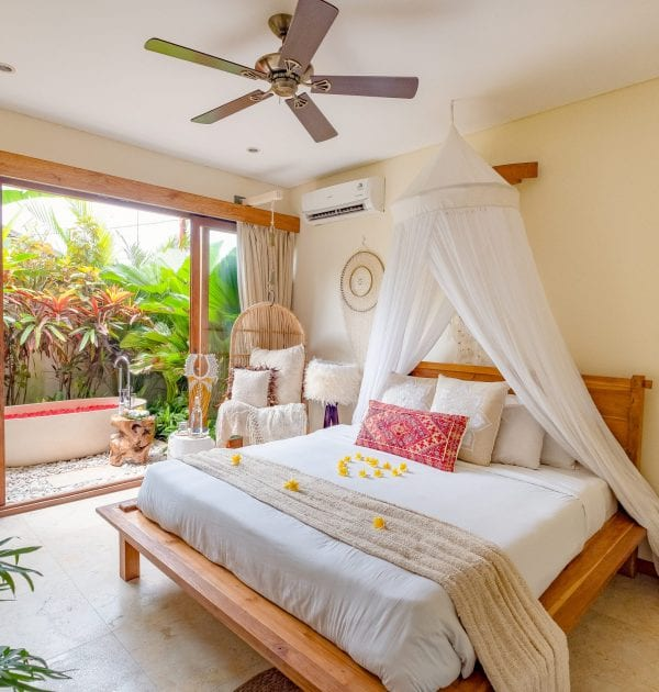 Bliss Sanctuary for Women, Canggu bedroom