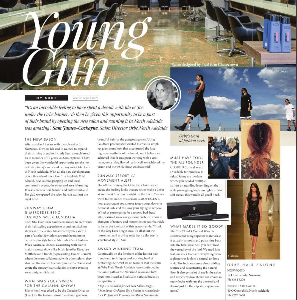 Young Gun – Interview with Sam and Ida – SA Style, Issue 22, Winter 2015