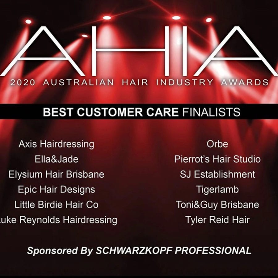 Orbe Hair @ Beauty 2020 AHIA Finalists in 3 Awards!