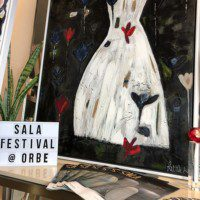 SALA Exhibition at Orbe Where Brushes Meet the Arts Sam James and Heather Little